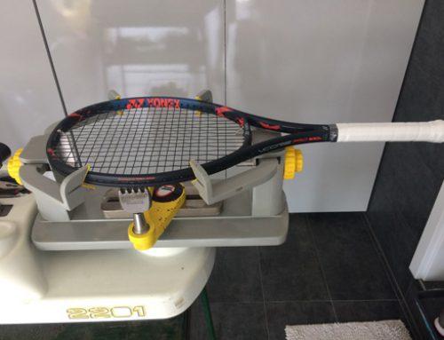 Teniszütő húrozás! A kulisszák mögül…